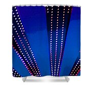 In Lights Abstract Shower Curtain