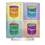 In Loving Memory Of Donny Who Loved Bowling Set Of 4 Variant 1 Shower Curtain