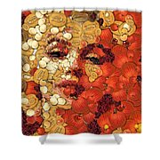 In Memory M M Shower Curtain