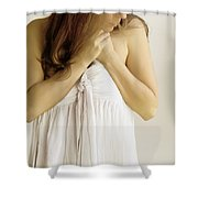 In My Thoughts And Dreams Shower Curtain