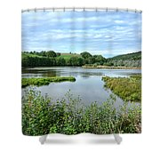 In Norman Switzerland Shower Curtain