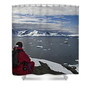 In Paradise... Shower Curtain