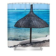 In Perfect Balance. Beach Life Shower Curtain