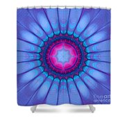 In Pink Ink Shower Curtain