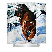 In Pursuit Shower Curtain