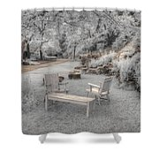 In Quiet Places Shower Curtain