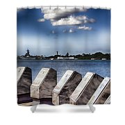 In Remembrance V7 Shower Curtain