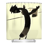 In Rotation Shower Curtain
