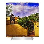 In Santa Fe - New Mexico Shower Curtain