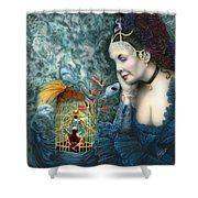 In Search Of Balance II Shower Curtain