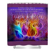 In Spirit And Truth Shower Curtain