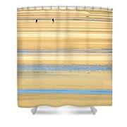 In Tasman Sands Shower Curtain
