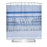 In The Bleak Midwinter Shower Curtain