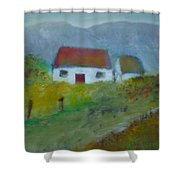 In The Bluestack Mountains Shower Curtain