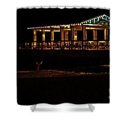 In The Dark I Am Invisible Shower Curtain