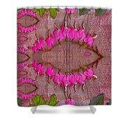 In The Eye Of The Koi Pop Art Shower Curtain