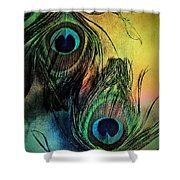 In The Eyes Of Others Shower Curtain