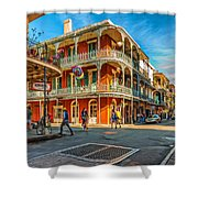 In The French Quarter - Paint Shower Curtain