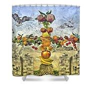 In The Garde Of Eden Shower Curtain