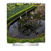 In The Heart Of Amsterdam Hidden Tranquility  Shower Curtain