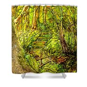 In The Heart Of The Forest Shower Curtain