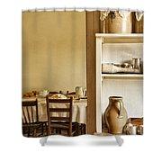In The Kitchen Shower Curtain