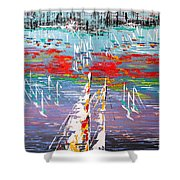 In The Lead - Sold Shower Curtain