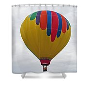In The Middle Balloon Shower Curtain
