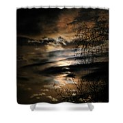 In The Midnight Hour II Shower Curtain