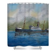 In The Mists Of Martinique Shower Curtain