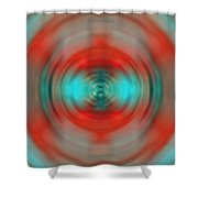 In The Moment - Energy Art By Sharon Cummings Shower Curtain