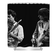 In The Moment With Bad Company 1977 Shower Curtain