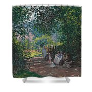 In The Park Monceau Shower Curtain