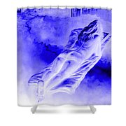 In The Peace Of Books Shower Curtain