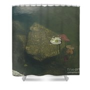 In The Pond Shower Curtain