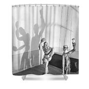 In The Prison Cell, 1929 Shower Curtain