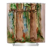 In The Rainforest Shower Curtain