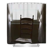 In The Shadows Of Light Shower Curtain by Margie Hurwich