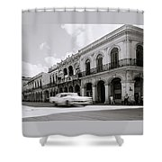 The Streets Of Havana Shower Curtain