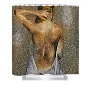 In The Turkish Bath Shower Curtain