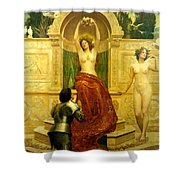 In The Venusberg Tannhauser Shower Curtain