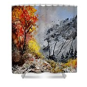 In The Wood 453101 Shower Curtain