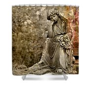 In Thought Shower Curtain