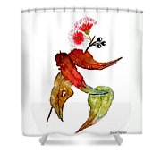 In Transition Shower Curtain
