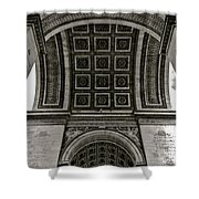 In Triomphe Shower Curtain