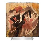In Vaudeville Shower Curtain