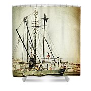 In With The Tides Shower Curtain