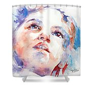 In Wonder Shower Curtain
