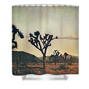 In Your Arms As The Sun Goes Down Shower Curtain