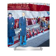 Inauguration Parade 2013 Shower Curtain